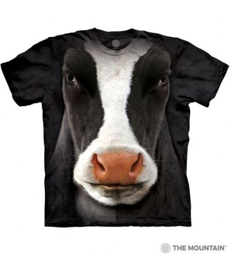 Black Cow Face T-shirt | The Mountain®